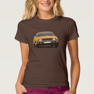 Austin Allegro naisten t-paita Zazzle