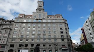 Sede de la Caja de Ahorros de Asturias.