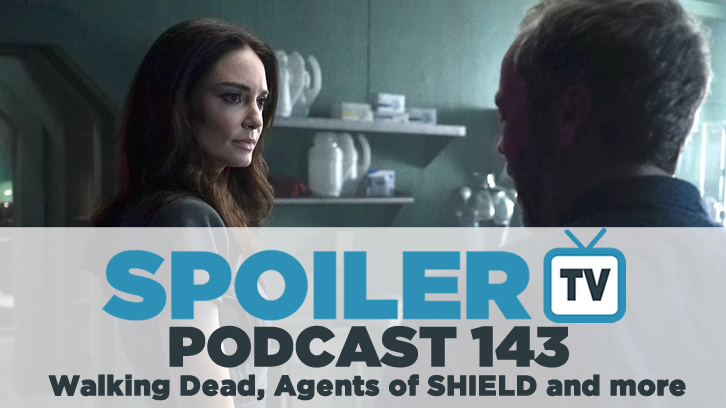 STV Podcast 143 - Legion, Walking Dead, Agents of SHIELD and more