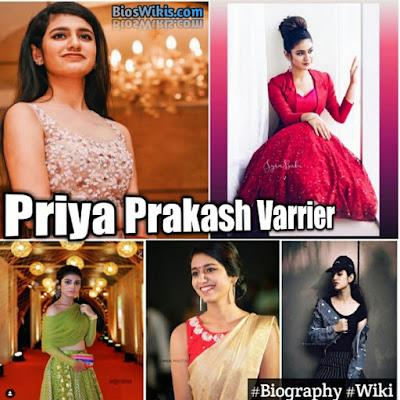 Priya Prakash Varrier image by bioswikis