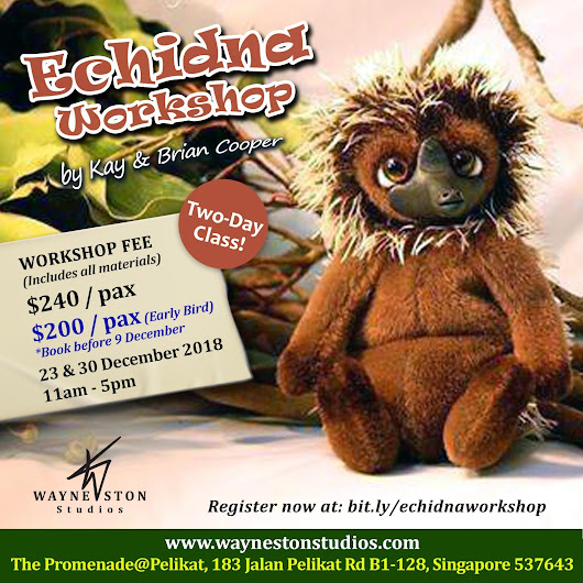 Echidna Workshop by Kay & Brian Cooper