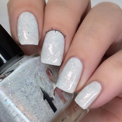 femme fatale white way of delight swatch from the green gables collection