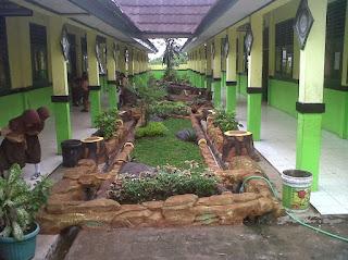 Dekorasi Taman Sekolah