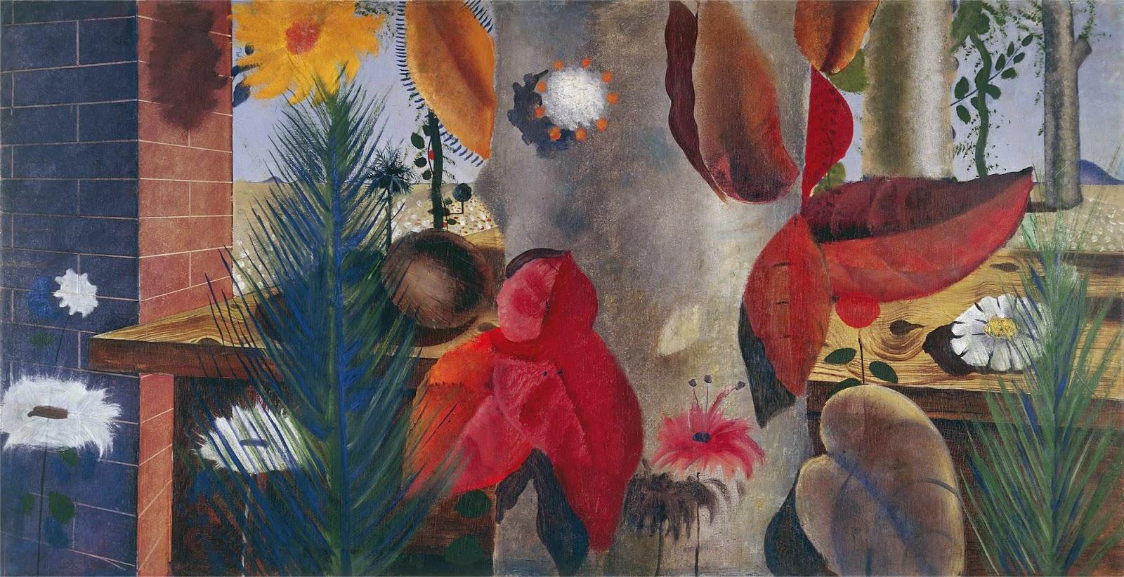 Bancada de plantas tropicais, de Portinari