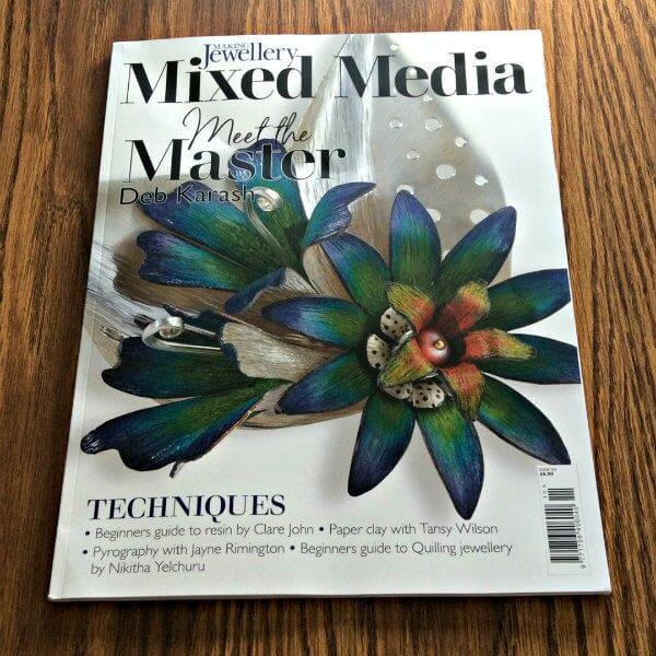 Cover of Issue 124 of Making Jewellery magazine