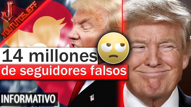 Trump tiene 14 millones de seguidores falsos en Twitter