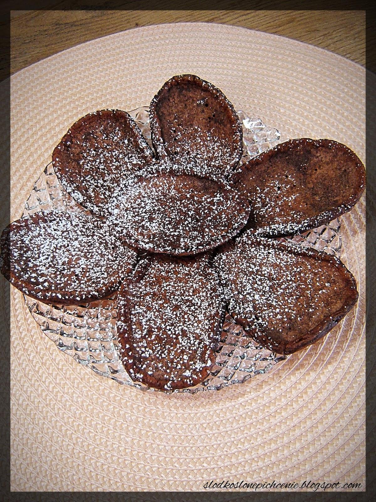 Placuszki kakaowe na maślance
