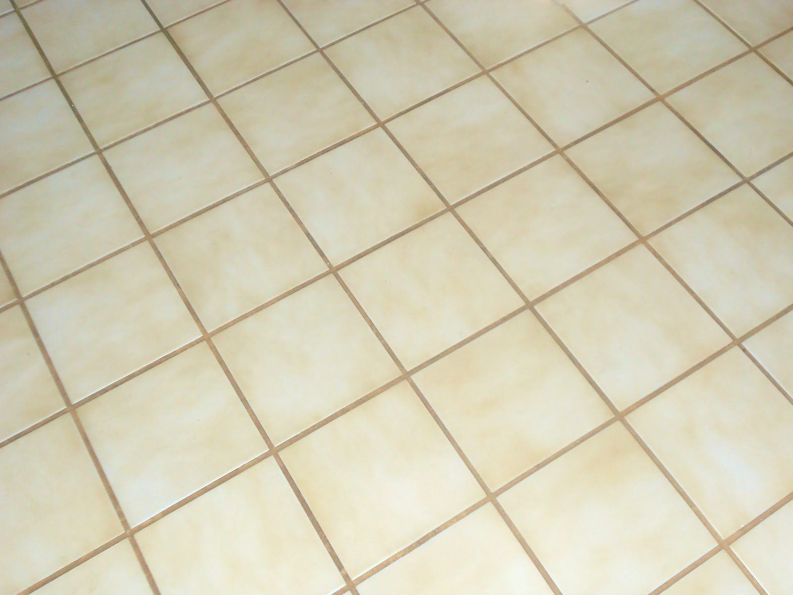 Foyer Tile Grout : Painting tile and grout