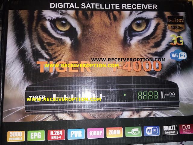 TIGER i-4000 HD RECEIVER AUTO ROLL POWERVU KEY NEW SOFTWARE