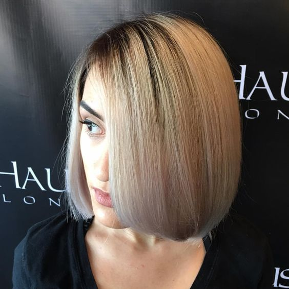Stunning Onelength Bob Haircuts  The HairCut Web