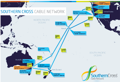 Telstra acquires capacity and 25% stake in Southern Cross Cable