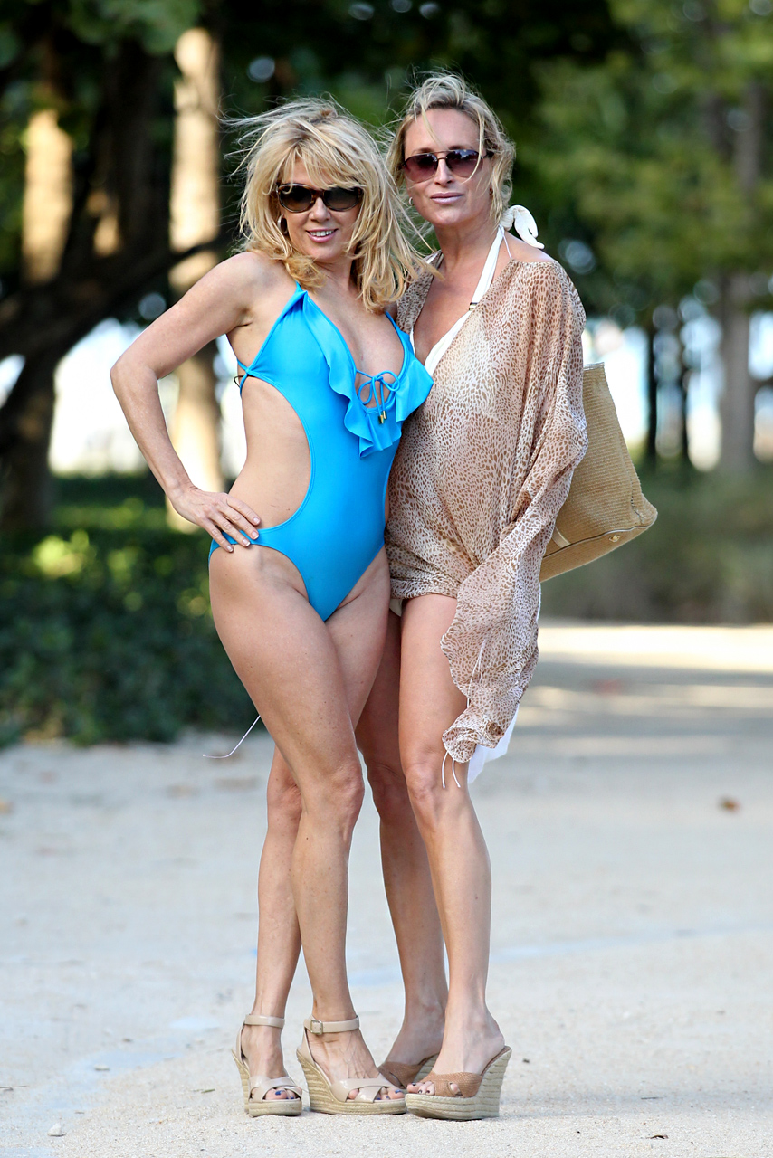 Real housewives camille grammer bikini has