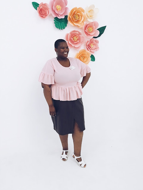 south african plus size blogger, nomalifromsoweto