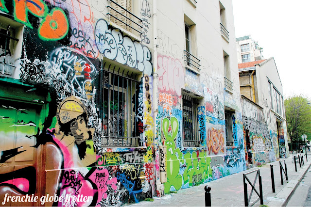 Street Art Stroll in Paris