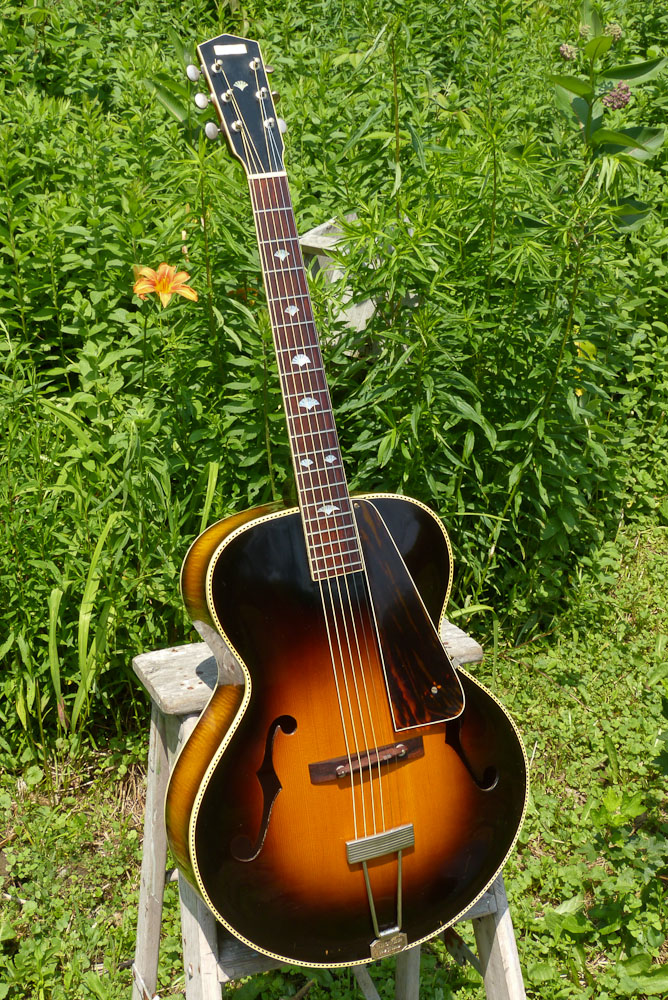 1937 Gibson-made Recording King M-5 Carved-top Guitar