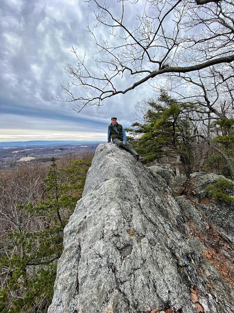 Hiking Up Sugarloaf