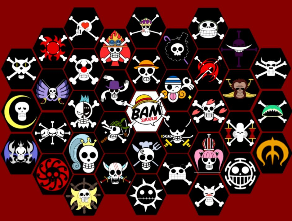 One Piece Jolly Roger Hd Wallpaper Wallpapers Tumblr