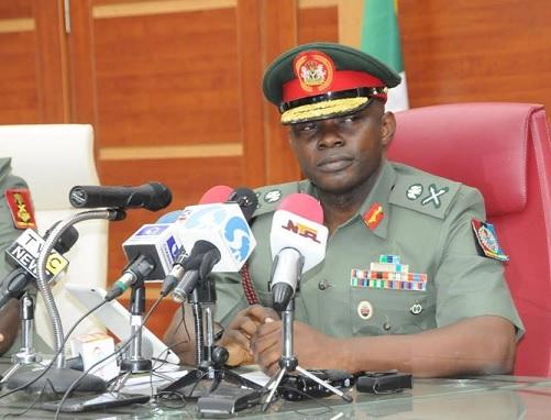 Nigeria's Chief of Defence Staff (CDS) Gen. Abayomi Gabriel Olonisakin