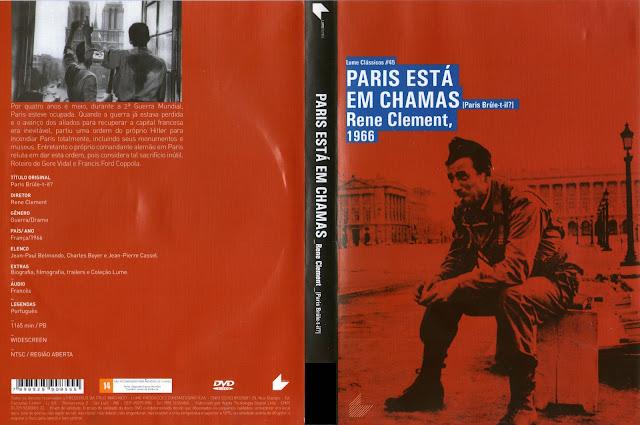 Capa DVD Paris Está Em Chamas