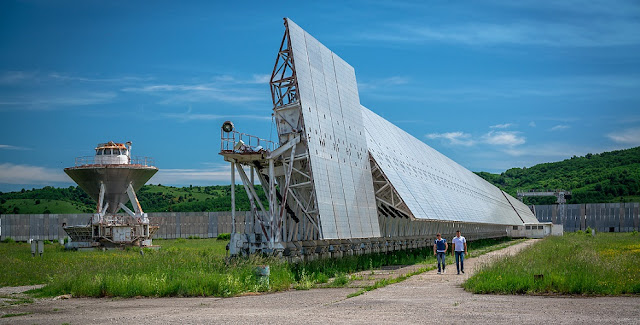 The RATAN-600 radio telescope in Zelenchukskaya, Russia. Credit: Timur Agirov