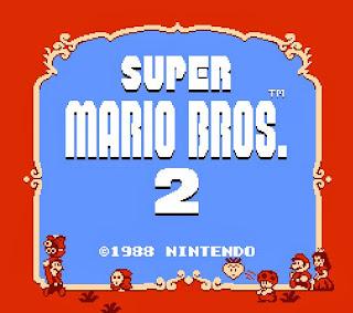 Imagen : Super Mario Bros 2. Portada