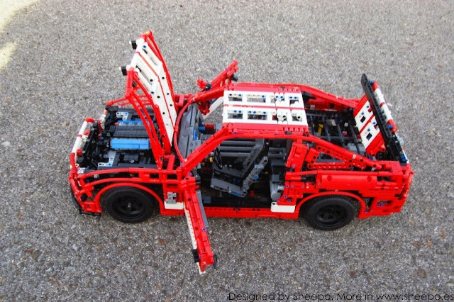 Ford Mustang Shelby Gt500 Lego Technic And Model Team Eurobricks