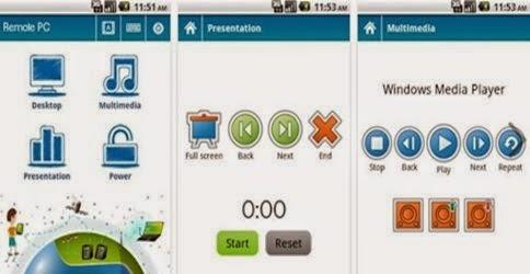 Merubah Android Menjadi Mouse Menggunakan Bluetooth