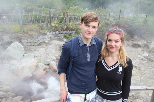 Posen am Vulkanischen See