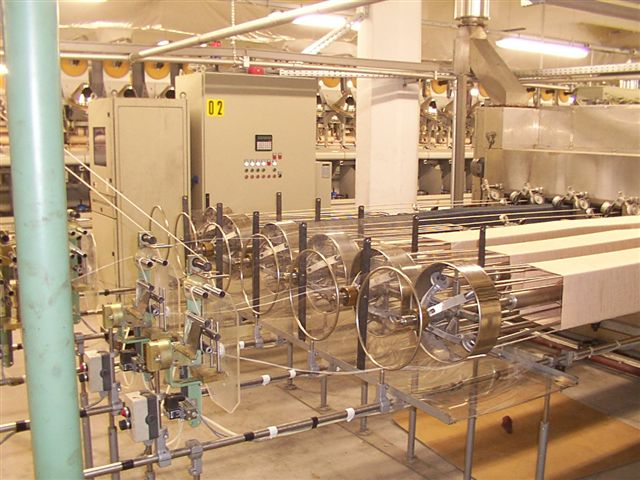 Heat Setting Line Sussen Gilbos Yarn Spinning Machine For