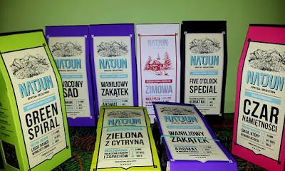 Herbaty sypane Natjun