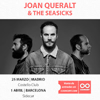 Conciertos de Joan Queralt & The Seasicks