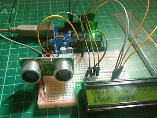 Arduino HC-SR04 - 2