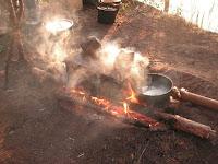 Кухня поисковиков ледового побоища Александра Невского