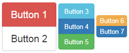 bootstrap vertical button group