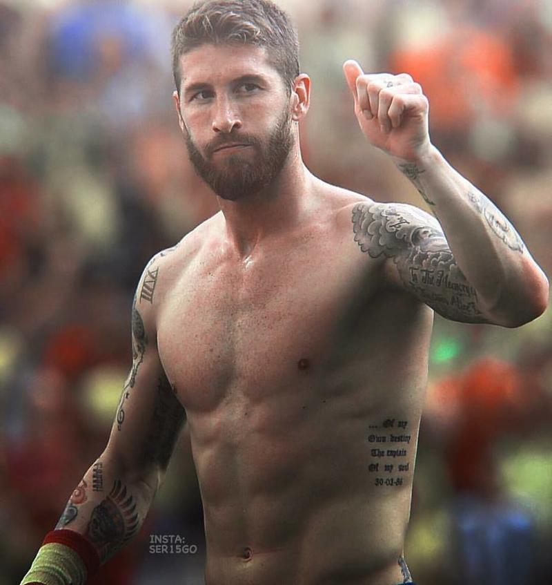 Sergio Ramos Körper