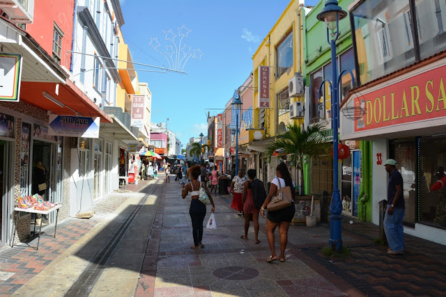 Bridgetown Barbados shopping