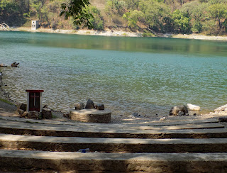 Sattal christian ashram Lake side chapel