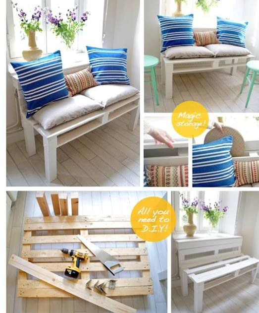 Diy Homemade Beautiful Pallet Furniture Designs