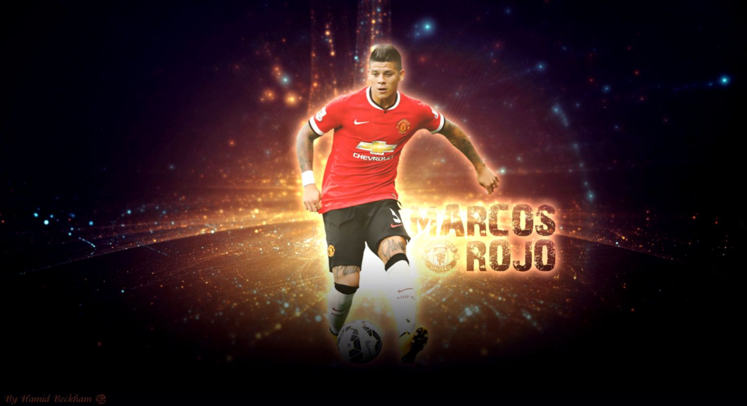 Marcos Rojo 2015 Wallpaper