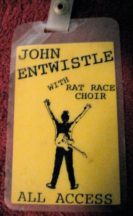 John Entwistle Rat Race Choir All Access pass