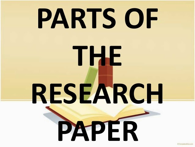 Parts research paper paper