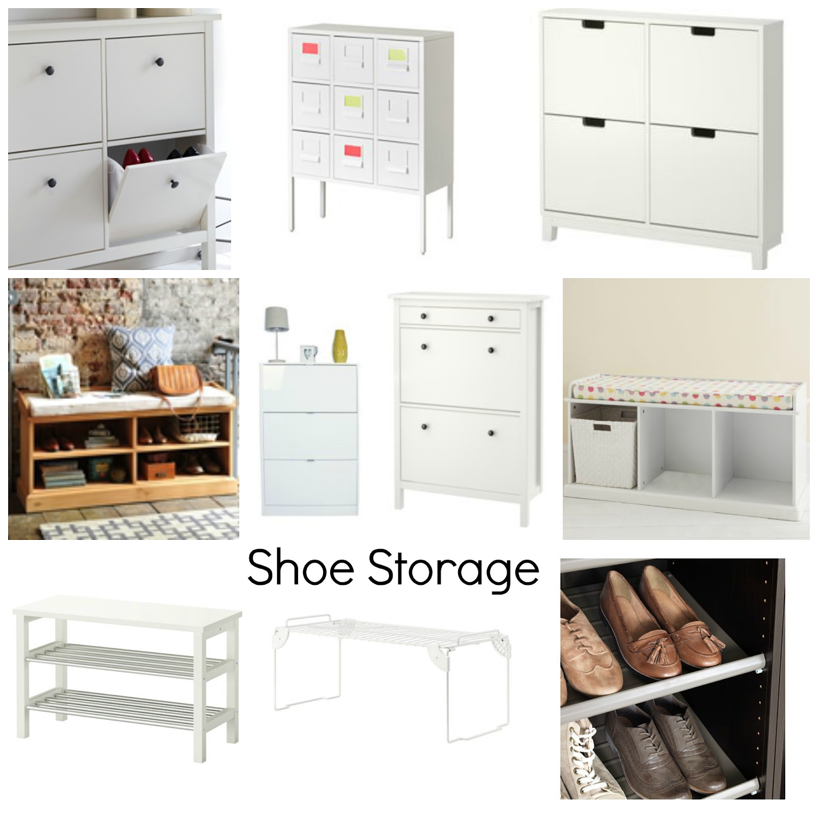Examples of Shoe Storage Cabinets