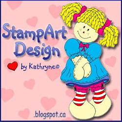 Stamp Art Design by Kathryne
