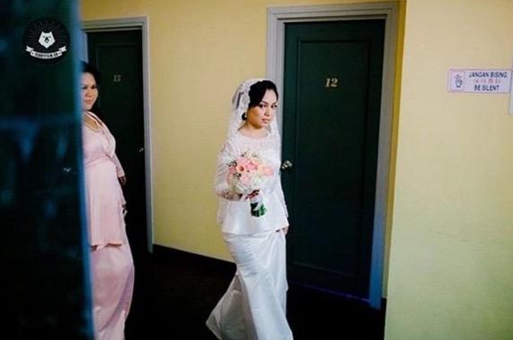 Gambar Sekitar majlis pernikahan Nad Zainal dan Muhammad Faliq