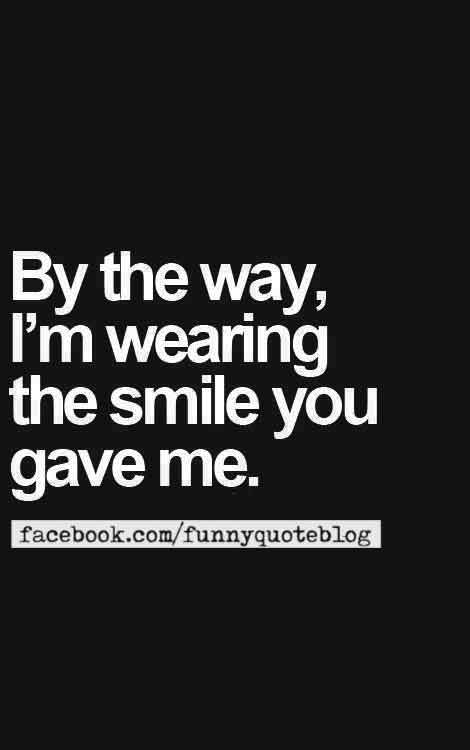 cute smile quotes
