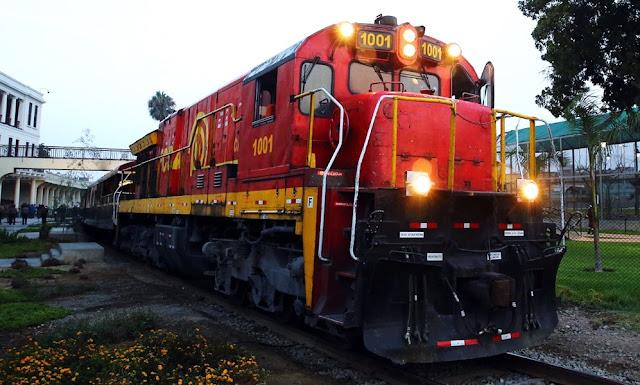 La modernización del ferrocarril Huancavelica y Huancayo, conocido popularmente como el Tren Macho