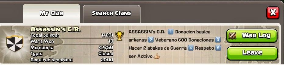 Assassin's C.R: Miembros Activos de Assassins CR
