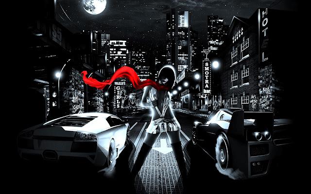 Imagenes De Autos En Hd Para Fondo De Escritorio: Noche De Carreras Y Chicas
