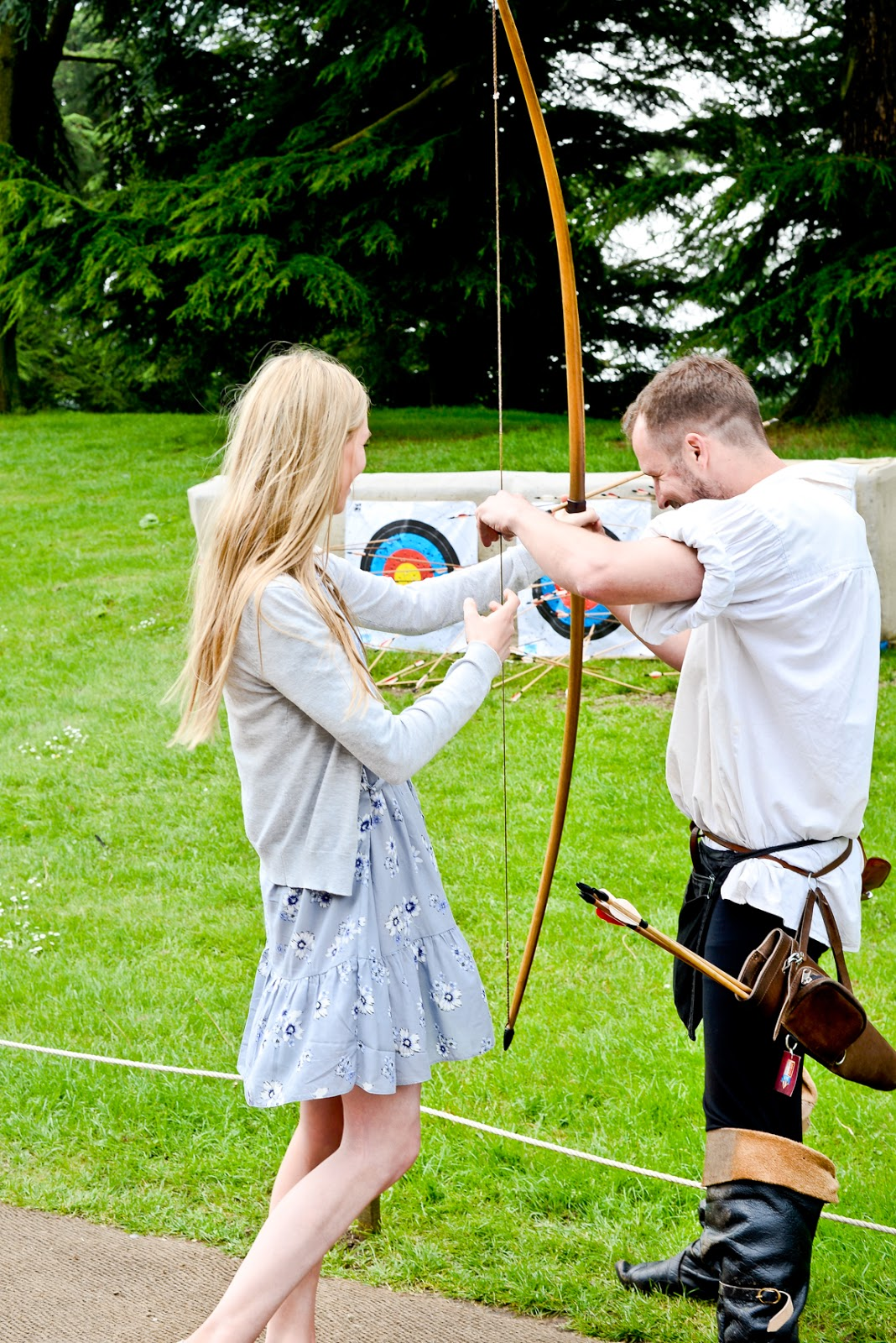 archer warwick castle, Medieval Glamping At Warwick Castle, Warwick Castle, What to see at Warwick Castle, Staying at Warwick Castle,