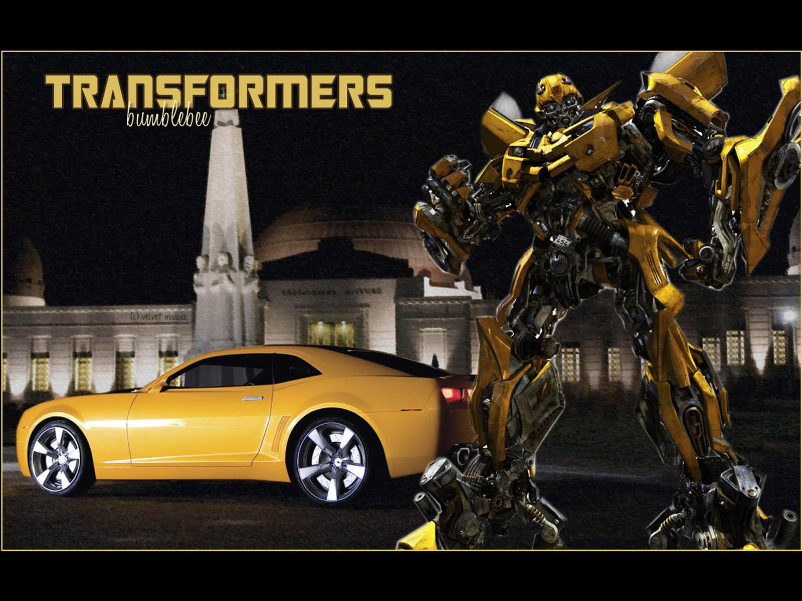 Bumblebee Car Wallpaper Download Wallpapers Transformers
